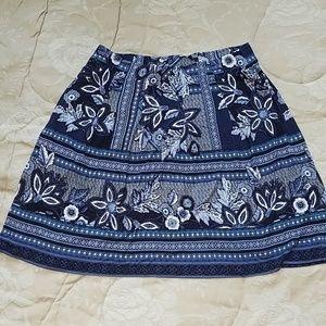 J Jill skirt with pockets